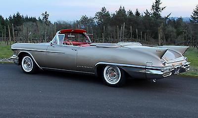 1958 Cadillac Eldorado Biarritz 1958 Cadillac Eldorado Biarritz Convertible, ONE OF 815 BUILT, FRAME-UP RESTORED