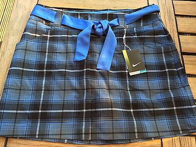 Nike Tour Performance Ladies Golf Skirt Skort Size 14 with Undershorts Brand New