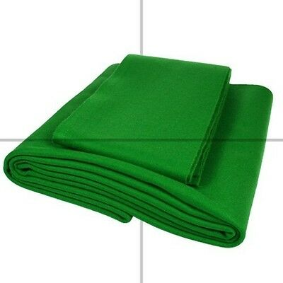 Speed Pool Cloth, 7 X 4 Bed and Cushions, English Green