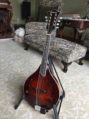 Eastman MD605 A Style Mandolin w/Case and Schatten Pickup