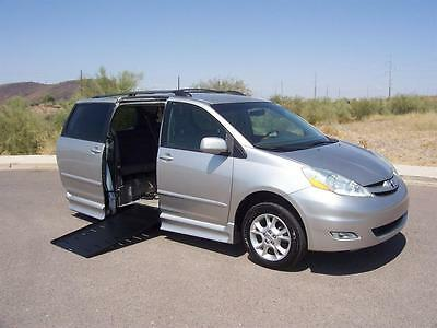 2006 Toyota Sienna XLE Wheelchair Handicap Mobility 2006 Toyota Sienna XLE Wheelchair Handicap Mobility Van Low Miles Loaded