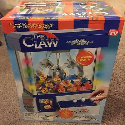 The CLAW Electronic Candy Grabber Crane Machine Arcade Game AS SEEN ON TV ~NEW