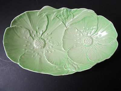 Carltonware green Poppy design bowl.