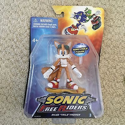 Sonic The Hedgehog 3-inch Free Riders Action Figure Tails