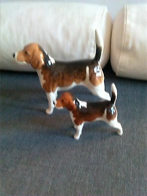 Two Beswick Wendover Billy Dogs