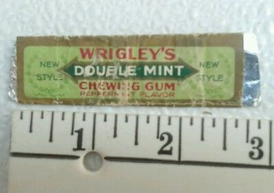 Vintage Wrigley's Spearmint Chewing Gum Wrapper Ripley MS Forest VA