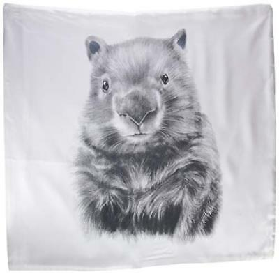 Miss Princess and Little Frog federa in Tencel Wombat 60 x 60 cm (r4O)