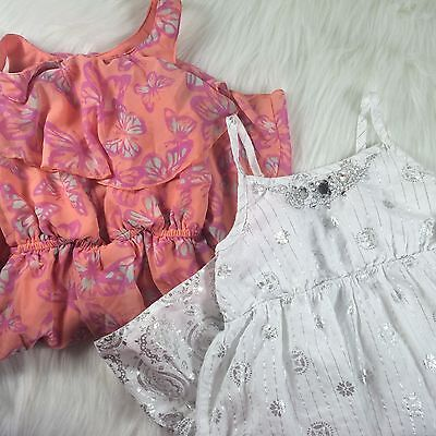 Mudd and The Childrens Place Girls size 5/6 Dress Lot of 2 Preowned