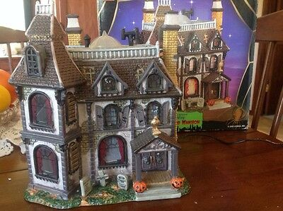 LEMAX 2002 Spooky Town The Alford Mansion Lighted Accent