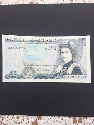 Brilliant Uncirculated Old Style £5 1988 Superb Collectable