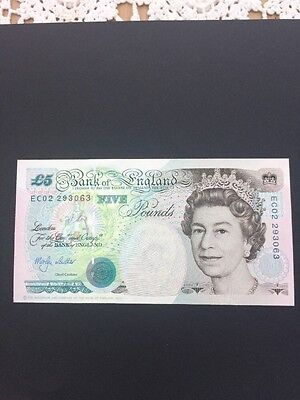 Brilliant Uncirculated Old Style £5 1998 Superb Collectable