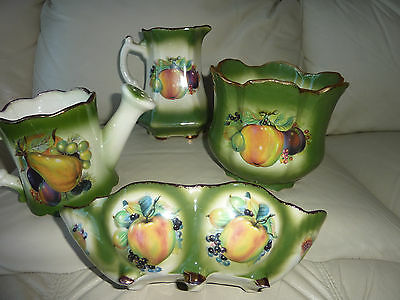 Mayfare Staffordshire English Pottery Set Of 4