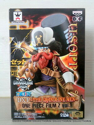 Figurine One Piece USOPP Banpresto DXF  Grandline Men Film Z Japan Figure Figura