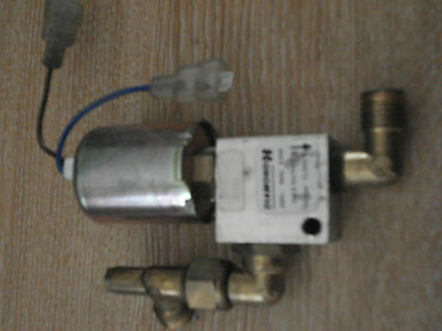 Strax Gas Turbo Touch TurboFlue Main Gas Fire Solenoid Valve [Diamond H ]