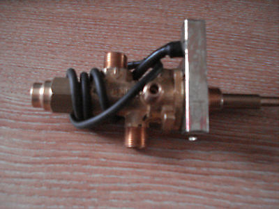 Gas Valve c/w Piezo  Ignition Lead,Verine,T/P,Trident Trim/Wall Switch Gas Fires