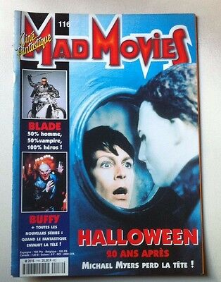 Mad Movies  N°116  -  HALLOWEEN  20 ANS APRES.