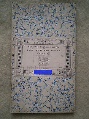 Late Victorian England & Wales Ordnance Survey Map