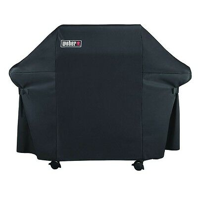 Weber 7107 Grill Cover and Black Storage Bag for Genesis 300 Series Gas Grills