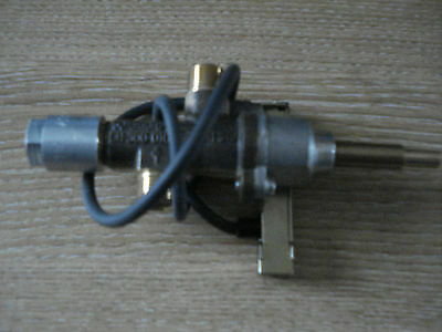 Manual Gas Control Valve c/w Piezo & Ignition Lead,Trident ,Verine,T/P Gas Fires
