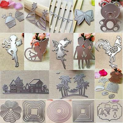 Metal Cutting Dies Stencil For DIY Scrapbooking Embossing Paper Card Decor GE