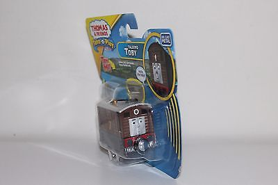 Thomas The Tank Engine Take n Play Diecast Talking Toby Brand New