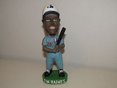2002 Tim Raines Montreal Expos Limited Edition Bobble head #5000