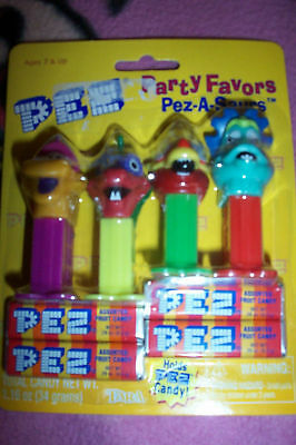 Set 4 Pez Party Favors Pez-A-Saurs Mini Dispensers From 2000