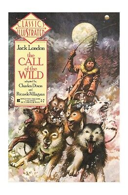 Classics Illustrated #10 - The Call of the Wild (Jun 1990, First Comics)