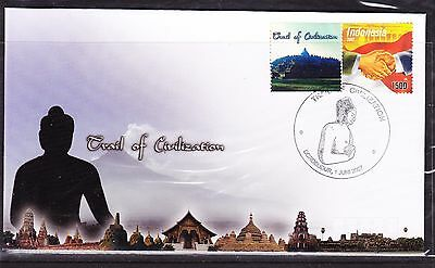 Indonesia 2007 - Trail of Civilization First Day Cover
