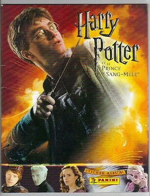 Harry Potter and the Half Blood Prince ,Panini used sticker Album