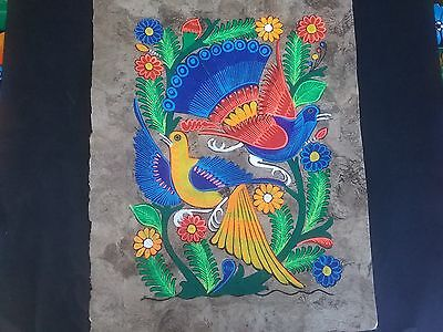 Mexican Bark Painting