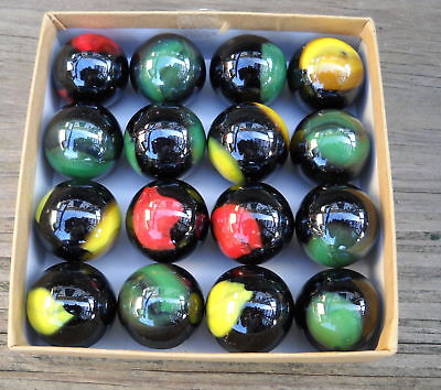 "Box Marbles16 Marble King Marshmallow 15/16"" Shooters"