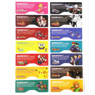 Pegatina Trasera Game Boy Advance Sp GBA Sp Back Label Sticker Varios Modelos
