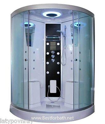 Steam Shower Room For Two Person,Thermostat,Bluetooth Audio.6 Year US Warranty