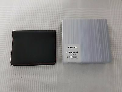 Casio Ex-word XD-N10000 Japanese Electronic Dictionary With Protective Cover