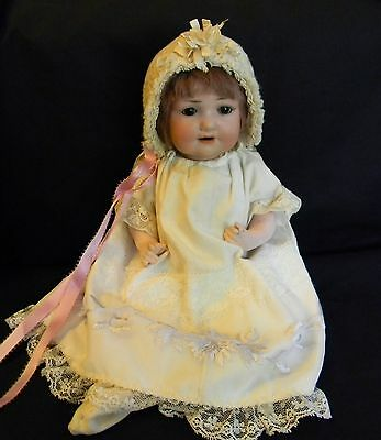 Antique Victorian Armand & Marseille Bisque Head Doll #971  11""