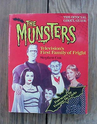 Munsters 1989 First Family of Fright Book Official Ghoul Guide Show History Cox