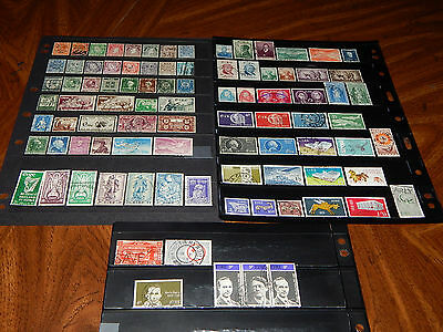 Ireland stamps - BIG lot of 90 mint hinged and used early stamps - very nice !!