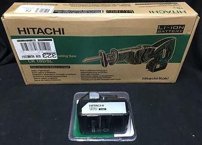 Hitachi CR18DSL 18V Cordless Li-ion Reciprocating Saw with 1 BSL 1830 BATTERY