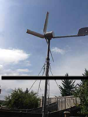 Wind generator turbine 12/24 600watt motor + free Rectifier, weather proof,,,,