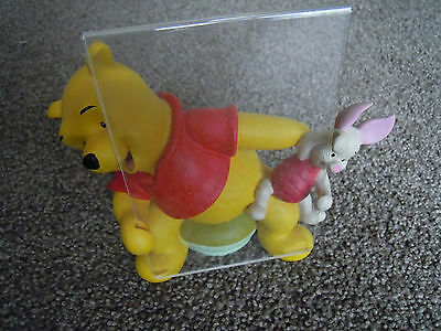 Winnie The Pooh & Piglet Classic Disney Soft & Fuzzy Picture Photo Frame Holder