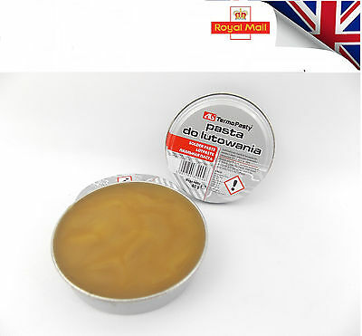 New flux soldering paste in the 40g tin for electronics SMD plumbing DIY etcUK