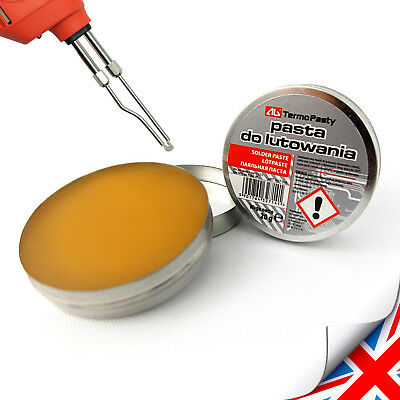 New 20g flux soldering paste in the tin for electronics SMD plumbing DIY etc