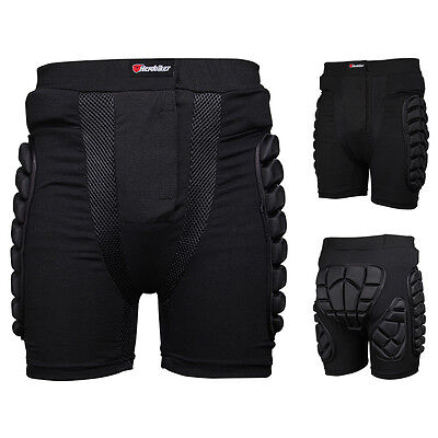 Motocross Ski Motorcycle Protection Padded Pants Sport Hip Bum Armour Shorts Hot
