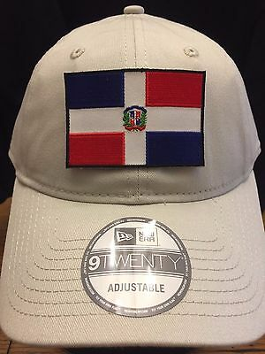 New Era NE201 Stone Unstructured Cap Dad Hat w// Puerto Rico Rican USA Flag