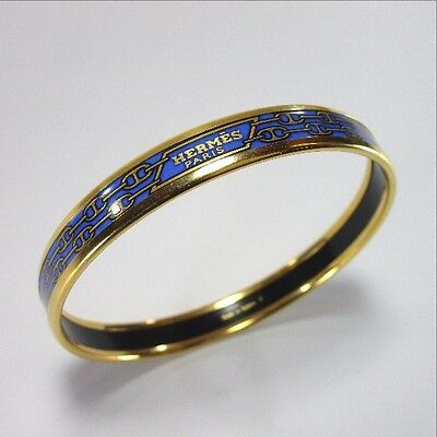 Authentic HERMES Emaire Bangle metal/