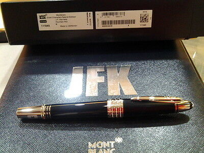 Montblanc John F. Kennedy Special Edtn Fountain Pen (M) Nib #111045 - New In Box