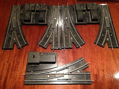 American Flyer manual Switch tracks 2 pair + one 5 pieces