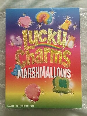 Lucky charms marshmallows. Rare cereal. It's 1 Out Of 10,000 Boxes.