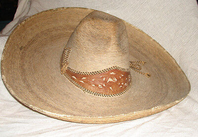 Very Early Wonderful Antique Old Sombrero